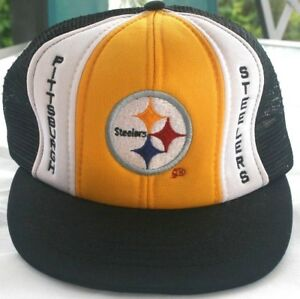 Vintage Pittsburgh Steelers NFL Ball Cap TM Snap back NEW VERY RARE ... 9d16f25ab