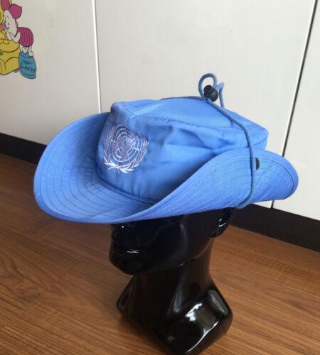 UNITED NATIONS PEACEKEEPING FORCE SWAT TACTICAL CAP MILSPEC BOONIE HAT XL