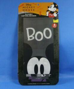 DISNEY-Mickey-Mouse-Flexible-Cutting-Board-4-Pack-Halloween-Dracula-Theme-8X11