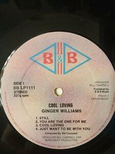 Ginger-Williams-Cool-Loving-Vinyl-LP-1981