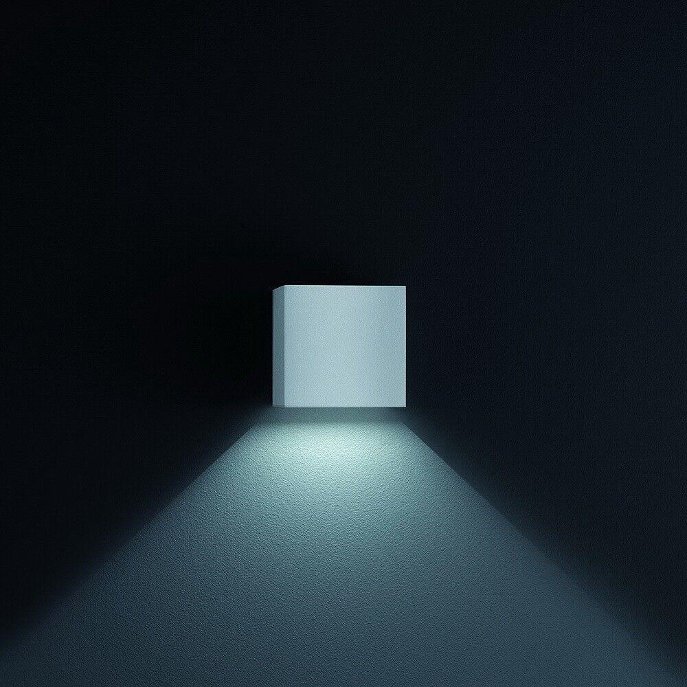 Helestra Siri 44 LED Lampada da parete grigio argento a18242.46