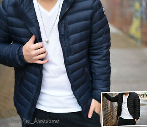 Abercrombie-amp-Fitch-Men-039-s-Down-Feather-Jacket-Outerwear-Puffer-Size-XS-S-M-L-XL