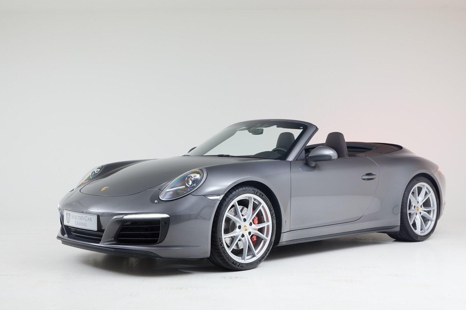 Porsche 911 Carrera 4S 3,0 Cabriolet PDK 2d - 10.738 kr.