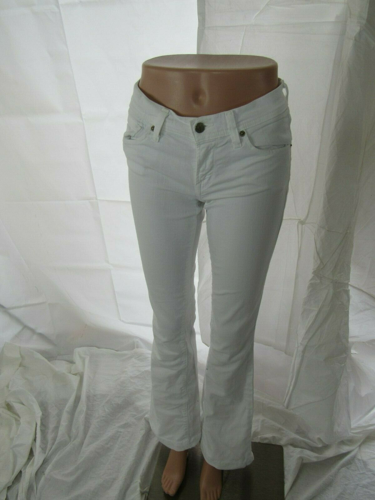 Citizens of Humanity Ingrid 002 Low Waist White Flare Jean Size 27