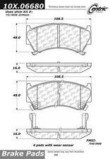 Centric Parts 102.06680 C-Tek Standard Metallic Brake Pad