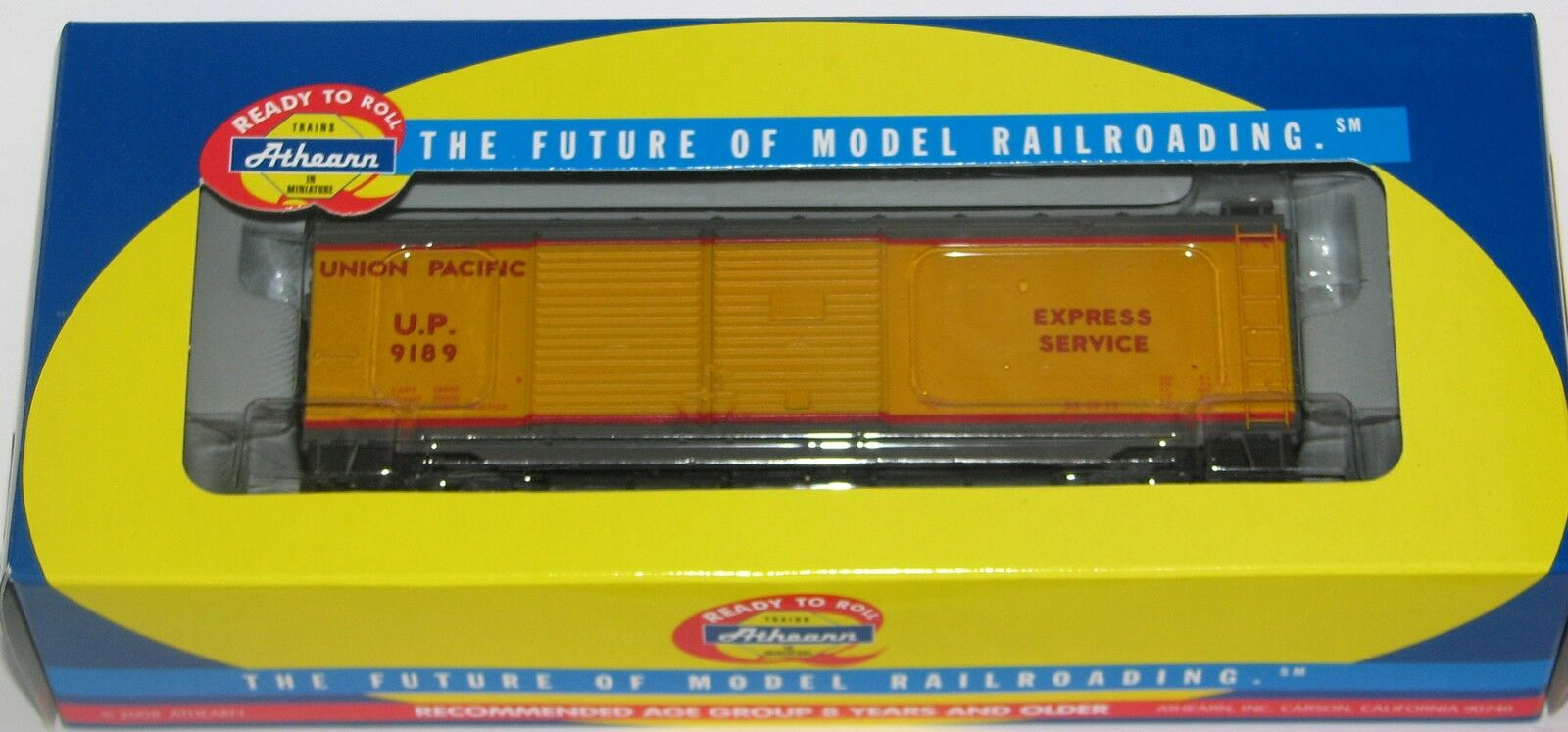 Athearn 70887 40' Express Double Door Boxcar-Union Pacific---New--HO Scale