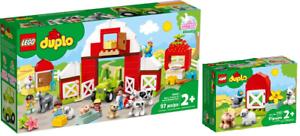 LEGO-Duplo-10952-Scheune-Traktor-und-Tierpflege-10949-N3-21-VORVERKAUF