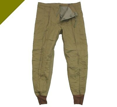 Original Trousers Bottoms Pants Lined NATO Cotton Trousers Cold Protection CZ//SK Army Olive.
