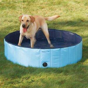 Dog Pool EXTRA TOUGH BLUE SWIMMING POOLS for LARGER DOGS Canine ...