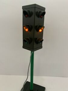 SEMAFORO ATLANTIC soldatini POLIZIA STRADALE Police City traffic lights vintage