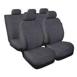Universal Schonbezug Schonbezüge Sitzbezug Sitzbezüge RS grau AUDI+BMW