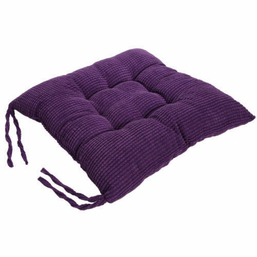 Cotton Seat Pad Replacement Cushion Garden Sun Lounger Recliner Chair Garden UK