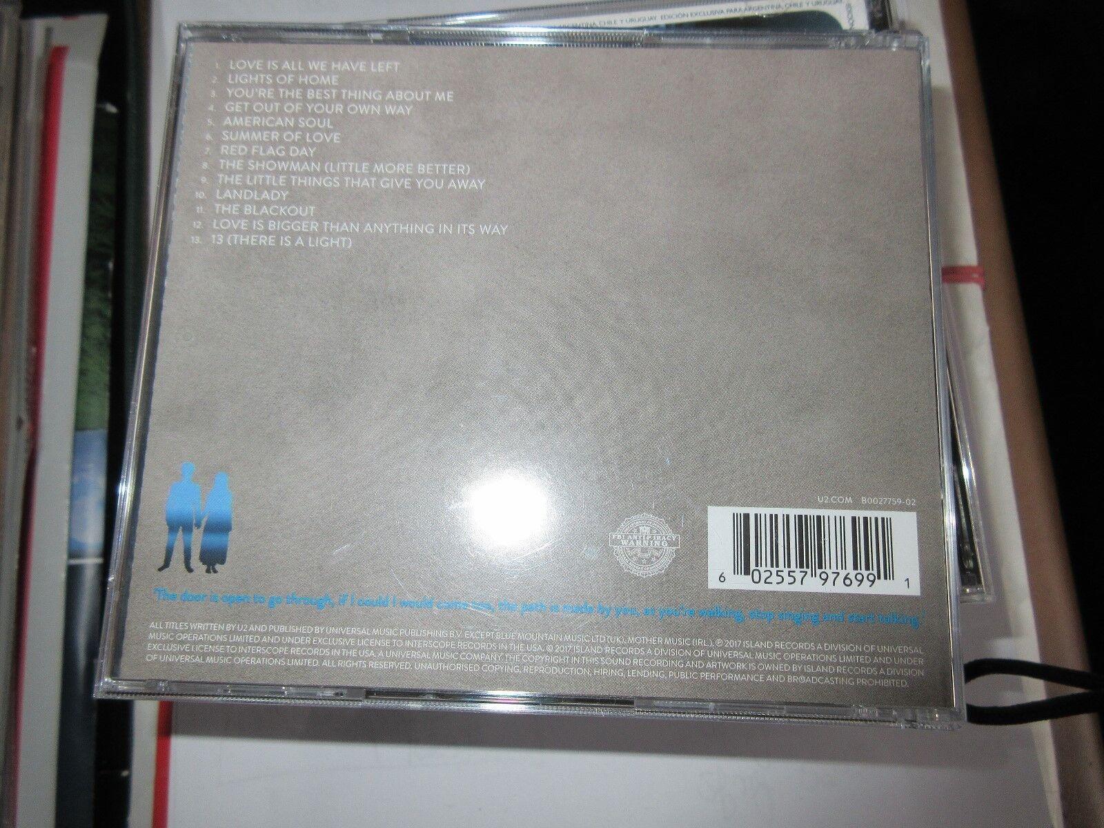 U2 Songs of Experience , CD 602557980295