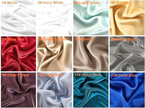 100/%SILK High grade 22mm Luxurious Pi.Cases*ASK4MoreColors In Stock NowFilter*BR