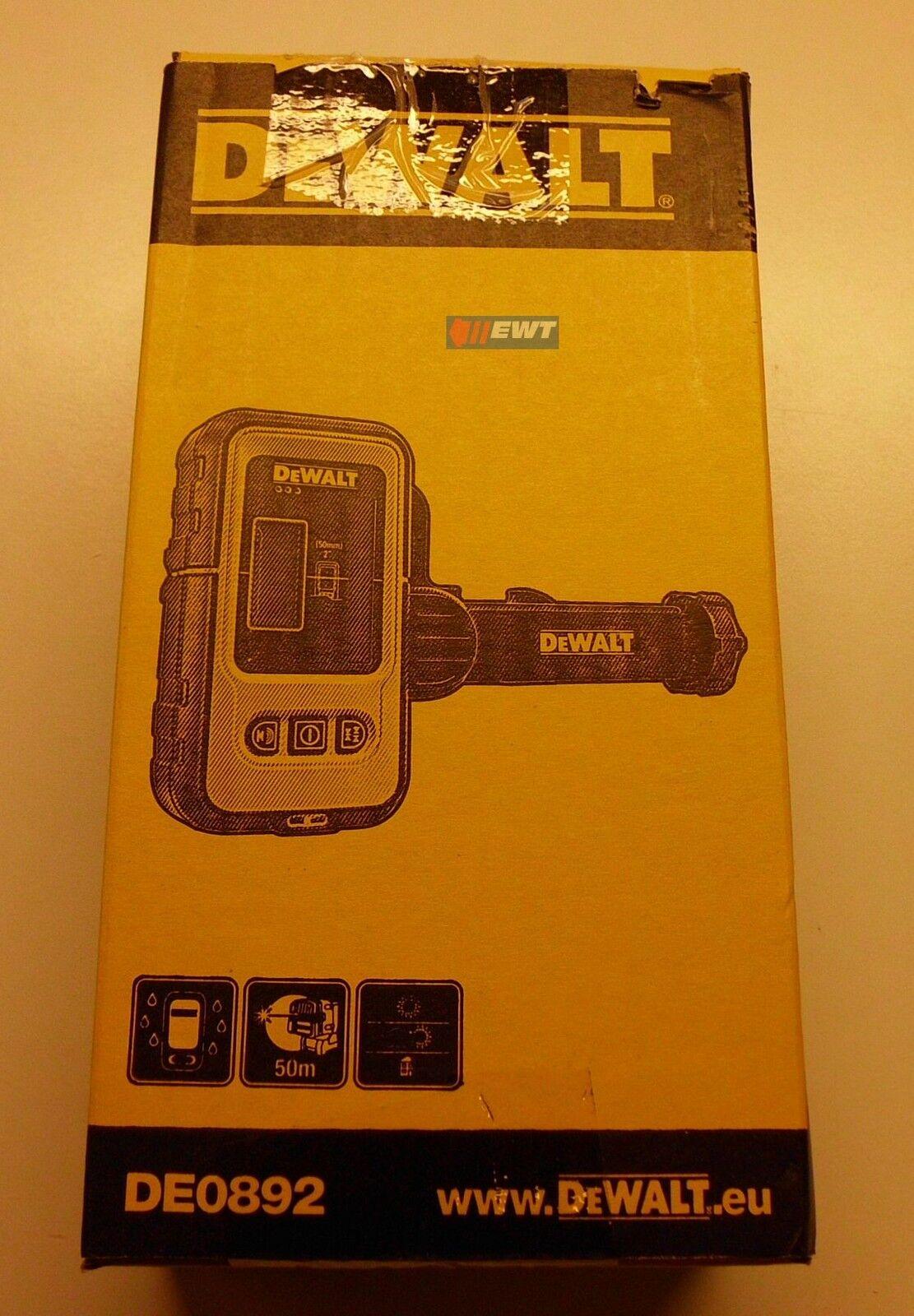 DeWALT DE0892  Laser Detektor   Empfänger für Laser  DW088 & DW089  DE 0892
