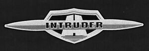Suzuki-Intruder-logo-XL-toppa-ricamata-termoadesivo-iron-on-patch-Aufnaher