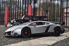 Grey Lamborghini Veneno RC Radio Remote Control Car RTR 1/14 Dream present
