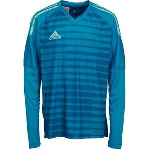 Details about Adidas Adipro 18 Goalie Jersey Long Sleeve Blue [CV6350] Size 164