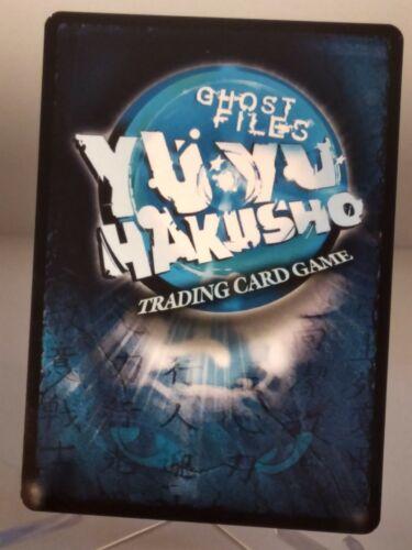 Yu Yu Hakusho TCG CCG Death Plant U175//176 Unlimited Ghost Files Card