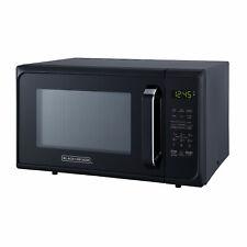 Black+Decker 900 Watt 0.9 Cubic Feet Countertop Microwave Oven, Matte Black