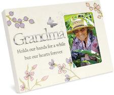 "Angel Star Sentiment Collection Photo Frame 4"" X 6"" Grandma Heart Forever 13370"