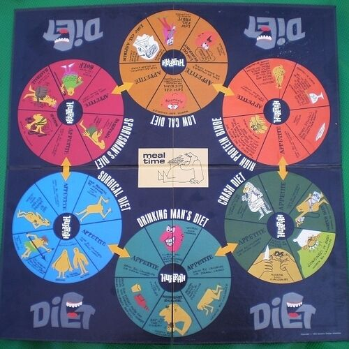 Diet: A Cheating Man's Game by Dynamic Design - Vintage Vintage Vintage Board Game (1972) NEW 315b72