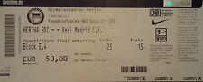 TICKET Friendly 2011/12 Hertha BSC Berlin - Real Madrid
