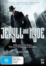 Jekyll & Hyde : Season 1 (DVD, 2016, 3-Disc) R4 New & Sealed Richard E Grant