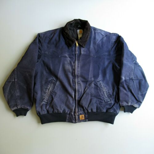 Carhartt Bomber Jacket Work Coat Canvas Workwear X