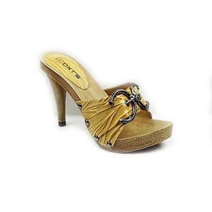womens platform peep toe high heel mules clogs