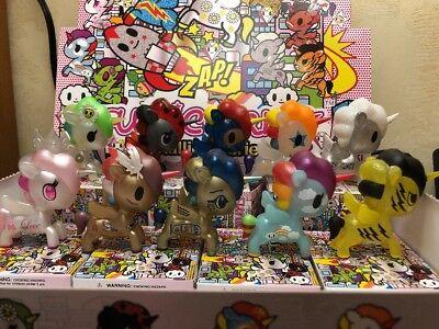 Set Of 10 Without Chasers Tokidoki Unicorno Series 6 Blind Box MMM