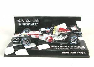 Honda Course F1 Équipe Ra106 Numéro 12 1er Win Hongrie Gp 2006 (bouton De Sarah)