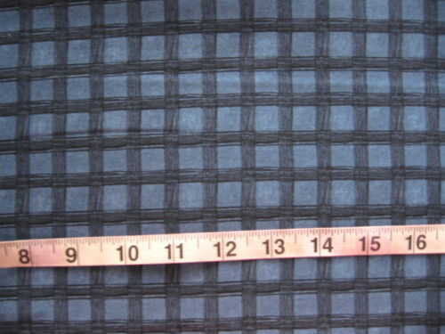 SouthSea Imports Blue with Darker Blue Check 100/% Cotton Fabric Debbie Mumm