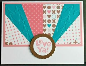 Stampin Up Handmade Valentine's Card