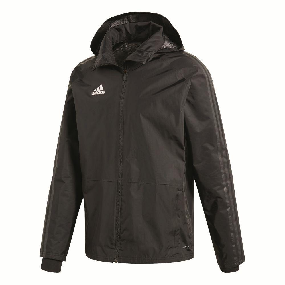 CALCIO Adidas Condivo 18 STORM Giacca tempesta giacca uomo nero
