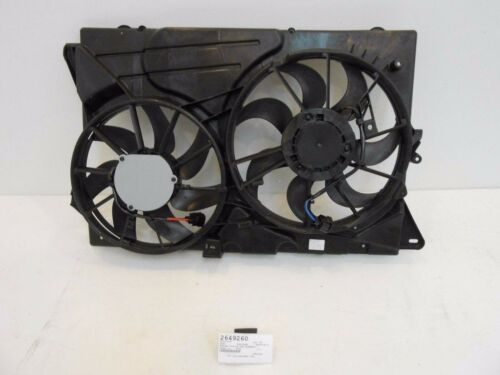 Radiator and Condenser Fan Assembly For 2011-2012 Ford Explorer 2.0L//11-12 3.5L