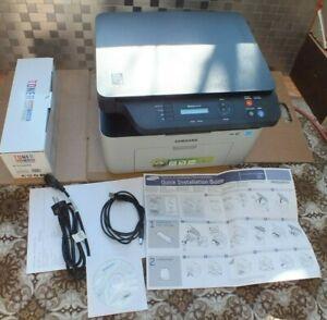 SAMSUNG Xpress SL-M2070W Laser Multifunktionsgerät  WLAN XL Toner neu Test Proto