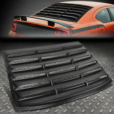 FOR 06-10 DODGE CHARGER REAR WINDOW MATTE LOUVER WINDSHIELD SUN SHADE COVER VENT