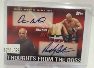 2010-Topps-UFC-Thoughts-From-the-Boss-Autographs-Randy-Couture-Dana-White-Rare