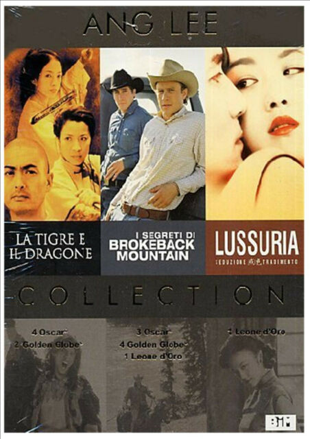 ANG LEE COFANETTO  3 DVD   2000, 2005, 2007   COFANETTO