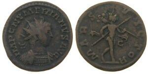 283-AD-Roman-Billon-Antoninianus-VF-Numerian-MARS-VICTOR-Lugdunum-Mint-RIC-388