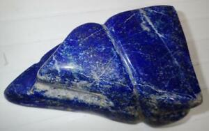Tumbled Nice Blue Lapis Lazuli Stone 0.6 to 9 gram Small Size Pieces 110 g Lot