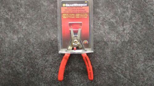 "Internal 3//8-2/"" External 1//4-2/"" Adj Stop 3151 GearWrench Retaining Ring Pliers"