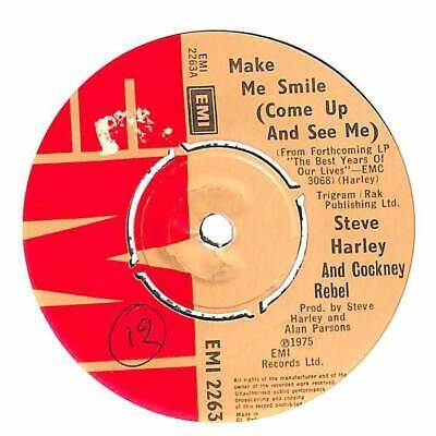 Steve Harley Cockney Rebel Make Me Smile Come Up And See Me 7 Record Ebay