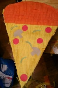 Pizza Slice Pinata filled with Sweets Birthday Party amp Stick Can be personalised - <span itemprop='availableAtOrFrom'>Glasgow, Glasgow (City of), United Kingdom</span> - Pizza Slice Pinata filled with Sweets Birthday Party amp Stick Can be personalised - Glasgow, Glasgow (City of), United Kingdom
