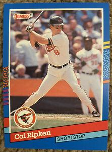 Cal Ripken Donruss 91 Baseball Error Card( No Dot After inc)