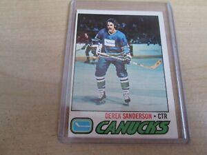 1977-1978-OPC-46-DEREK-SANDERSON-VANCOUVER-CANUCKS