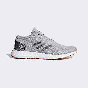 Image is loading Adidas-Pureboost-Go-AH2324-Men-Running-Shoes-Grey- b85ead11ad903