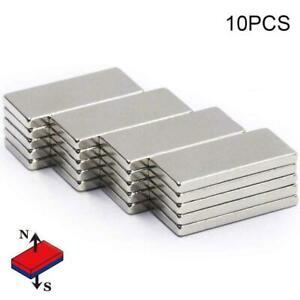 10-Pcs-Super-Starke-Block-Magnete-Rare-Earth-Neodym-20x10x2mm-S2Y4