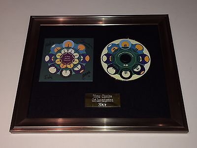 SIGNED//AUTOGRAPHED BOMBAY BICYCLE CLUB SO LONG SEE YOU TOMORROW FRAMED CD.RARE